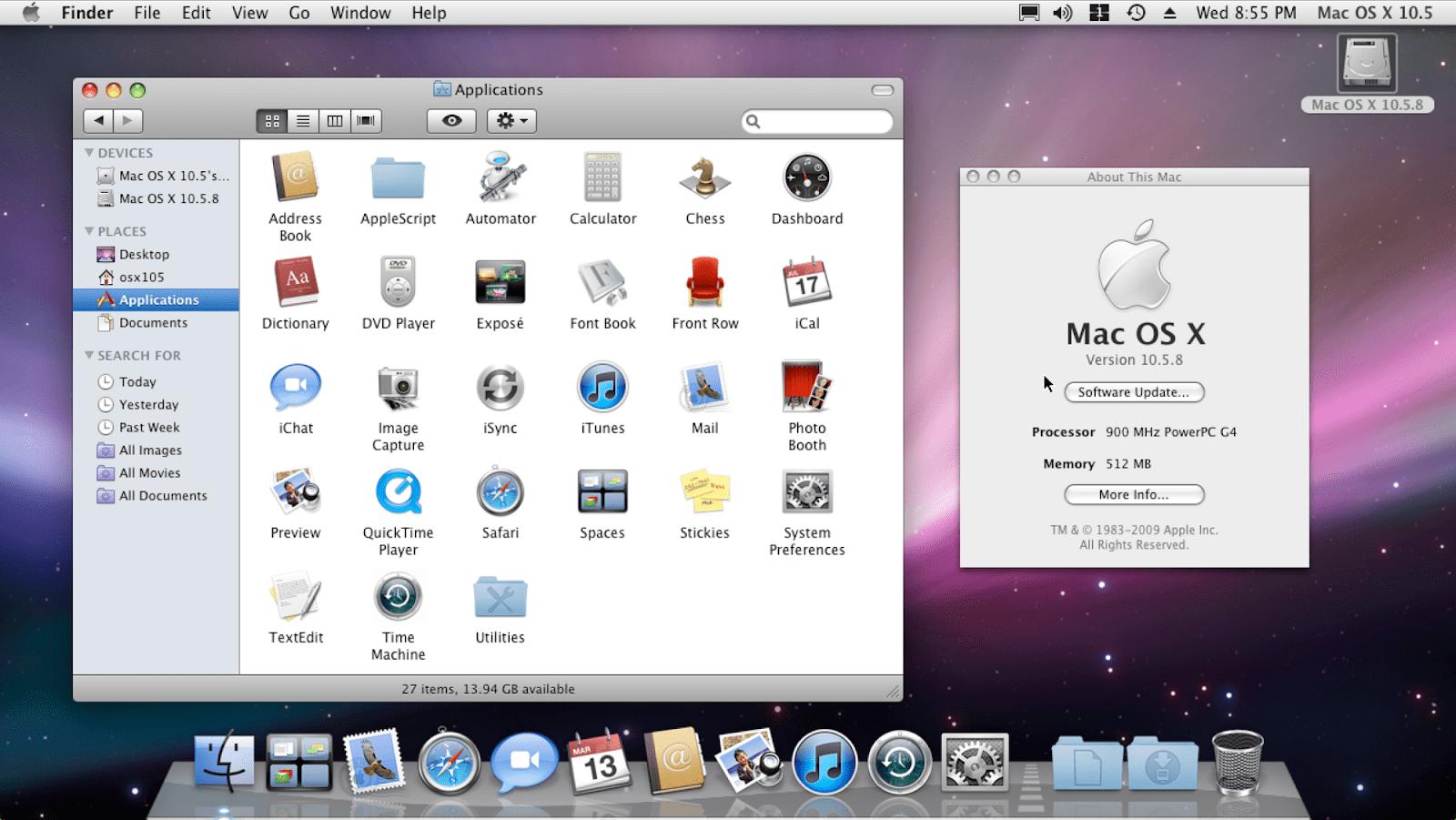 Mac OS X 10.5 (Leopard)