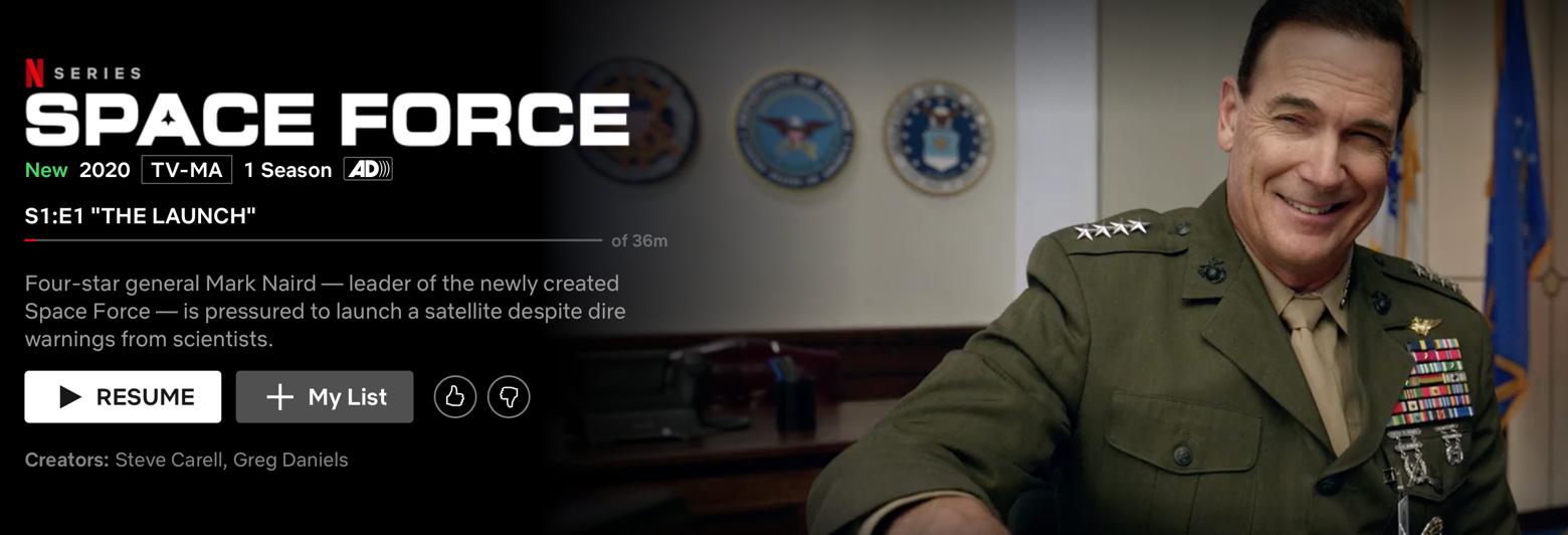 Netflix Space Force