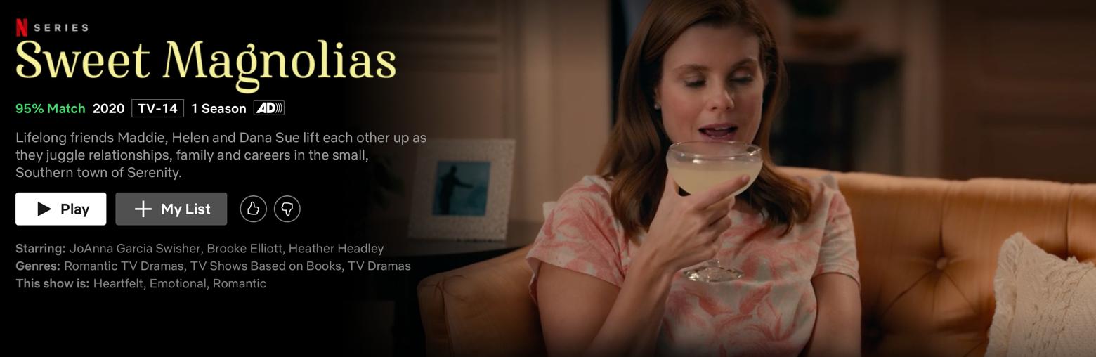 Netflix Sweet Magnolias