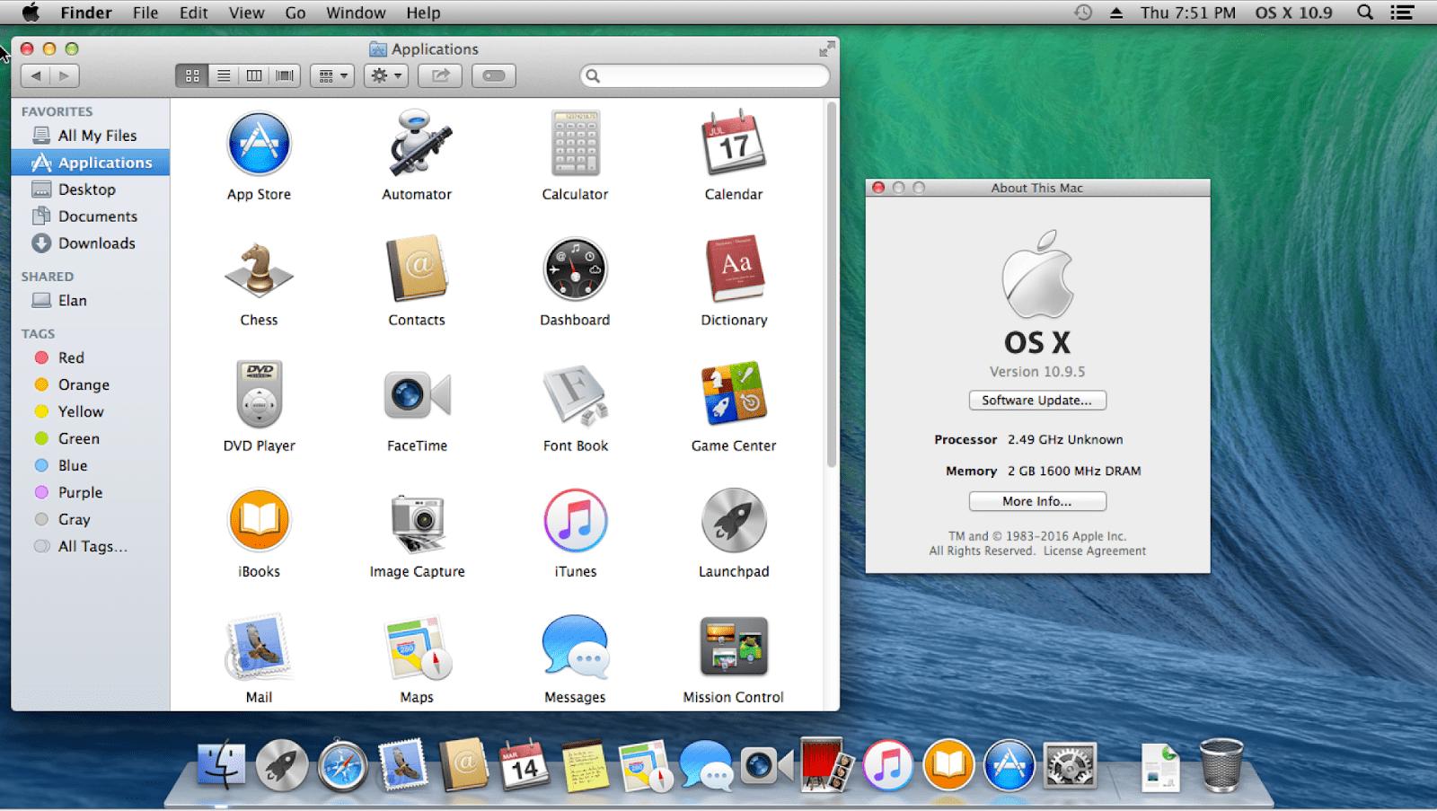 OS X 10.9 (Mavericks)