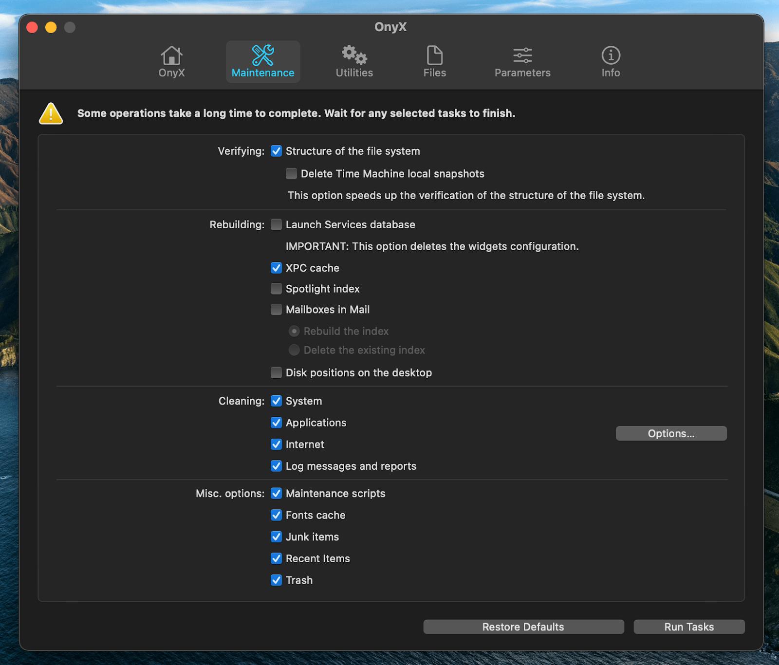 OnyX mac