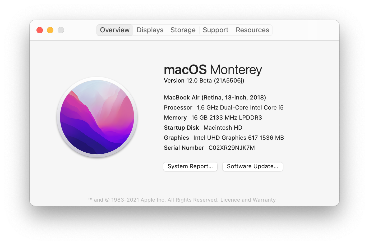 About This Mac > Software Update
