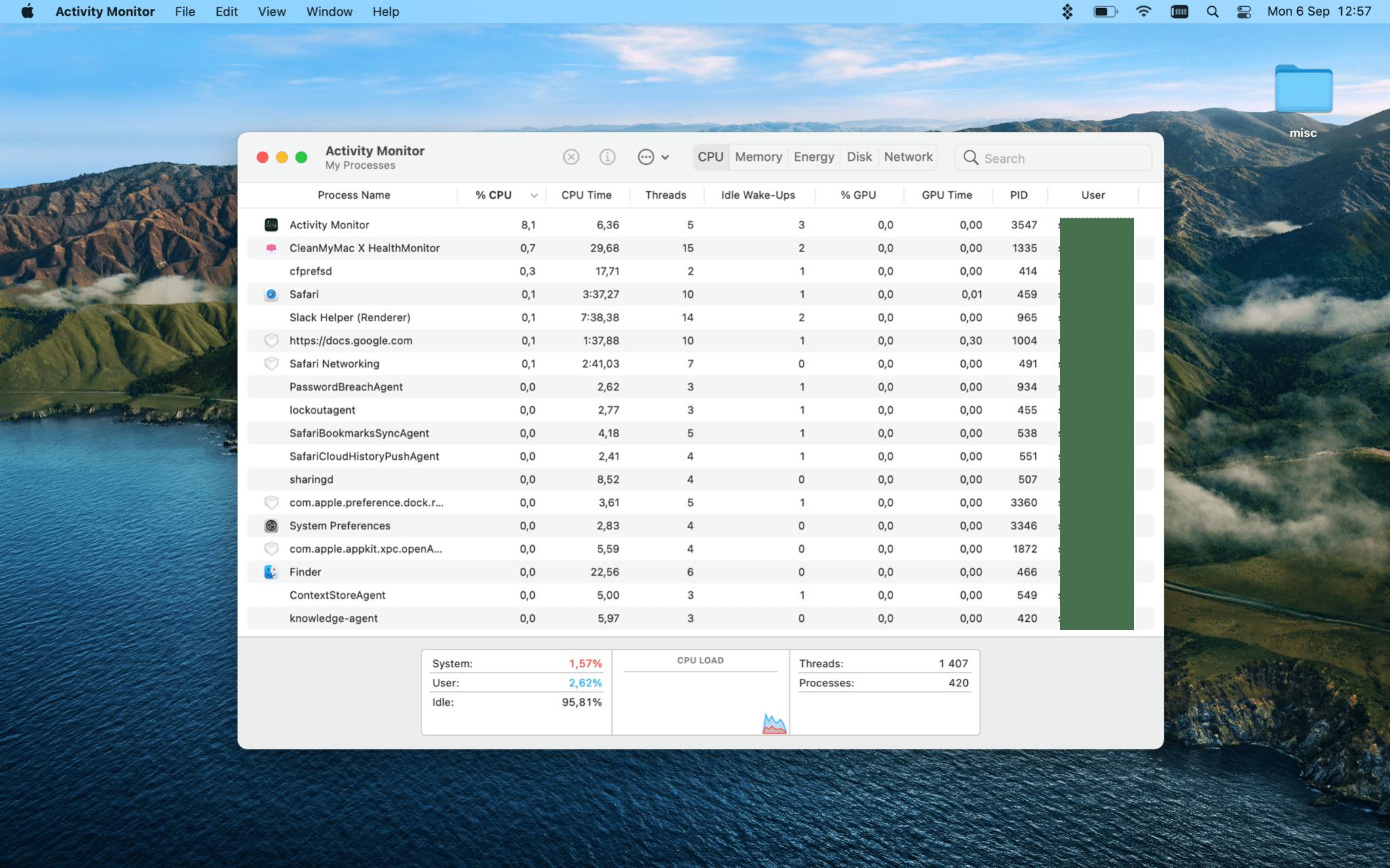 activity monitor mac