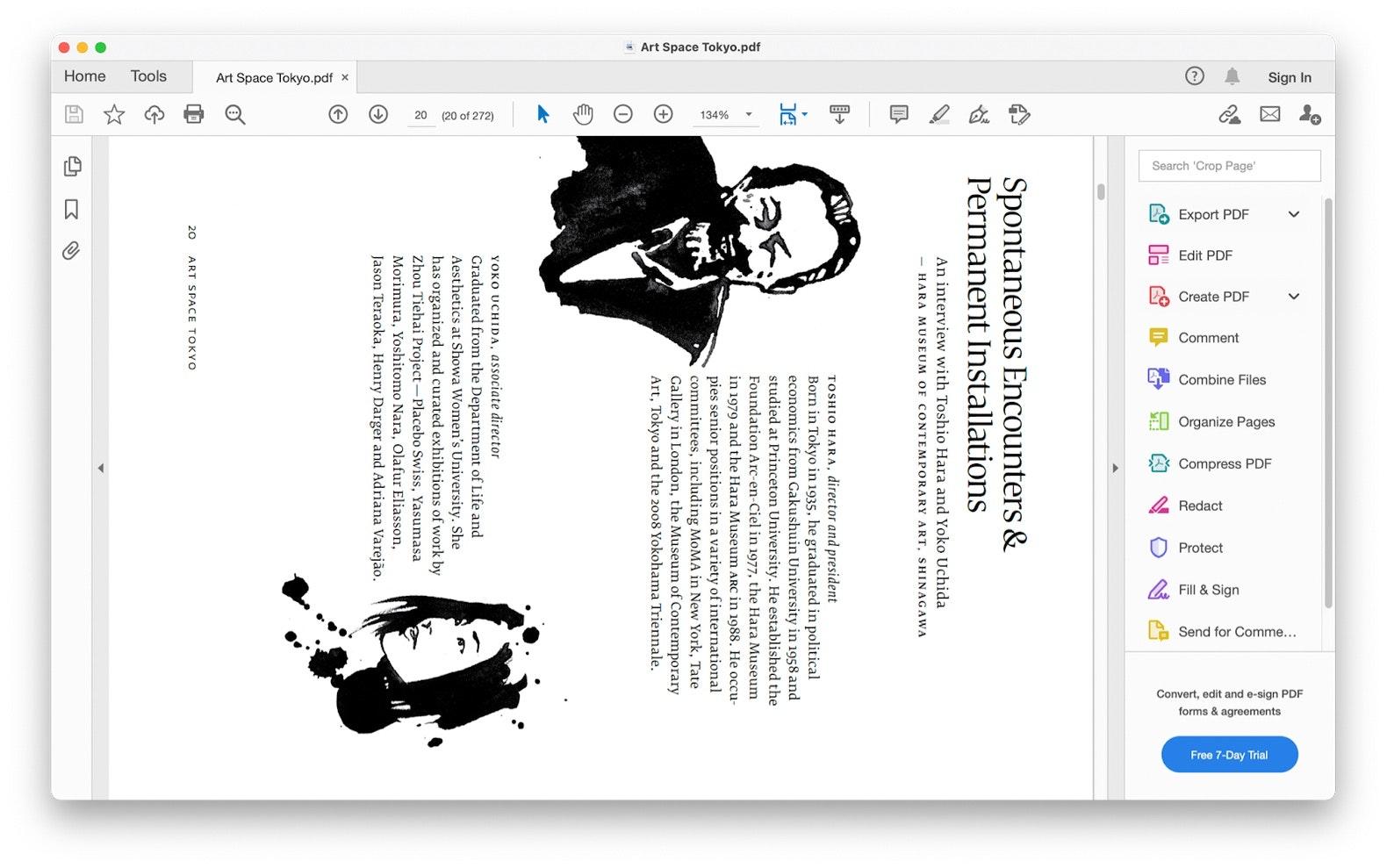 rotate PDFs via Adobe Acrobat