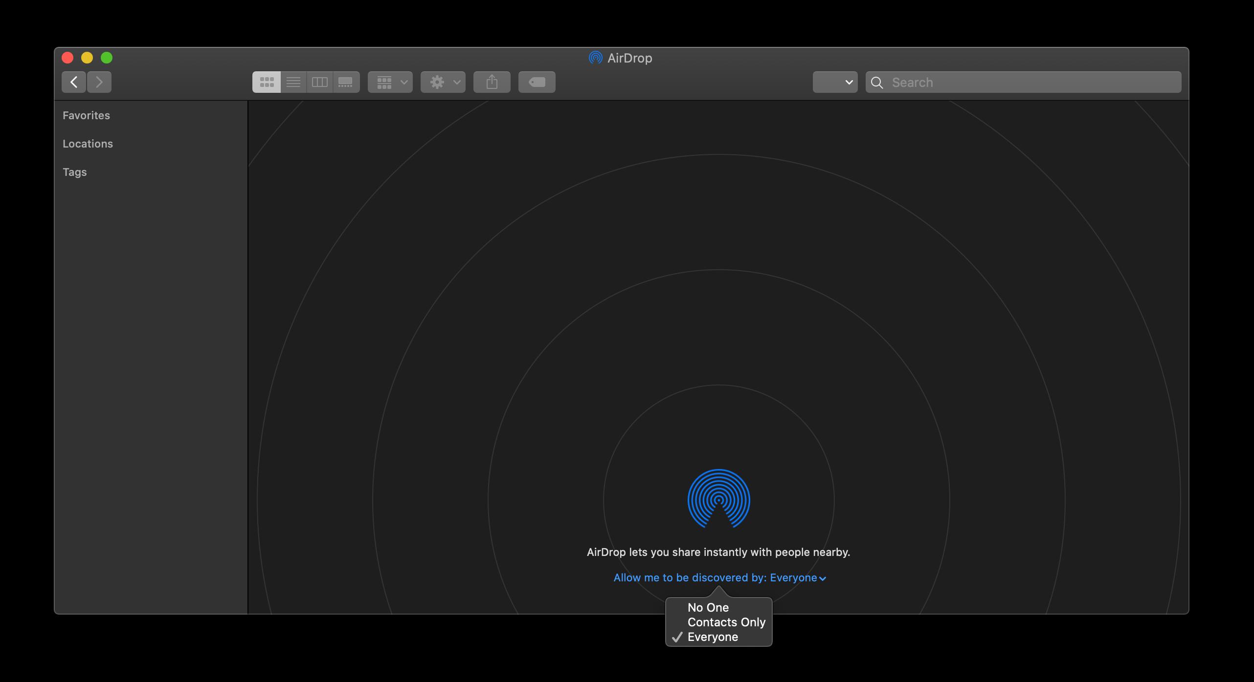 enable airdrop mac