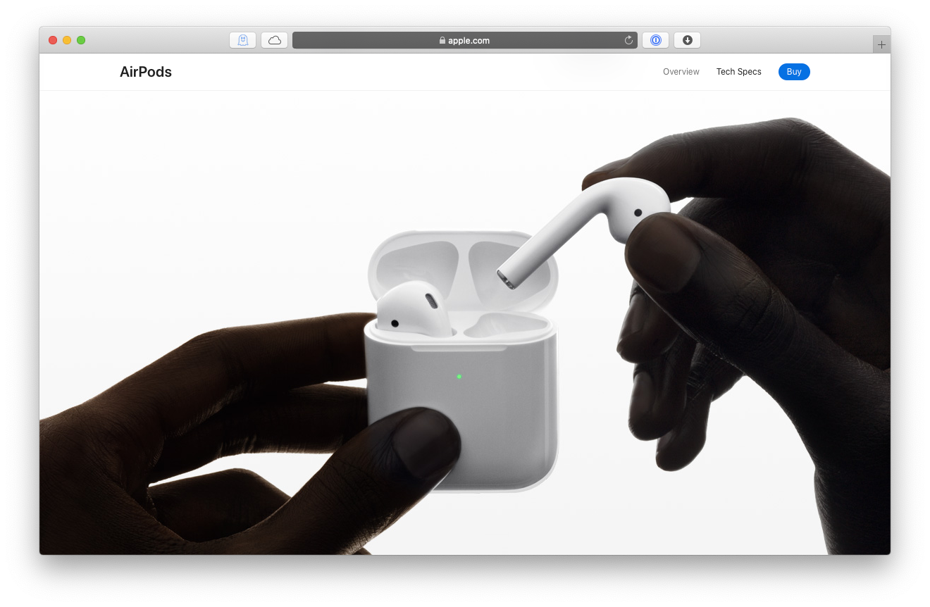 AirPods 2 generation Mac