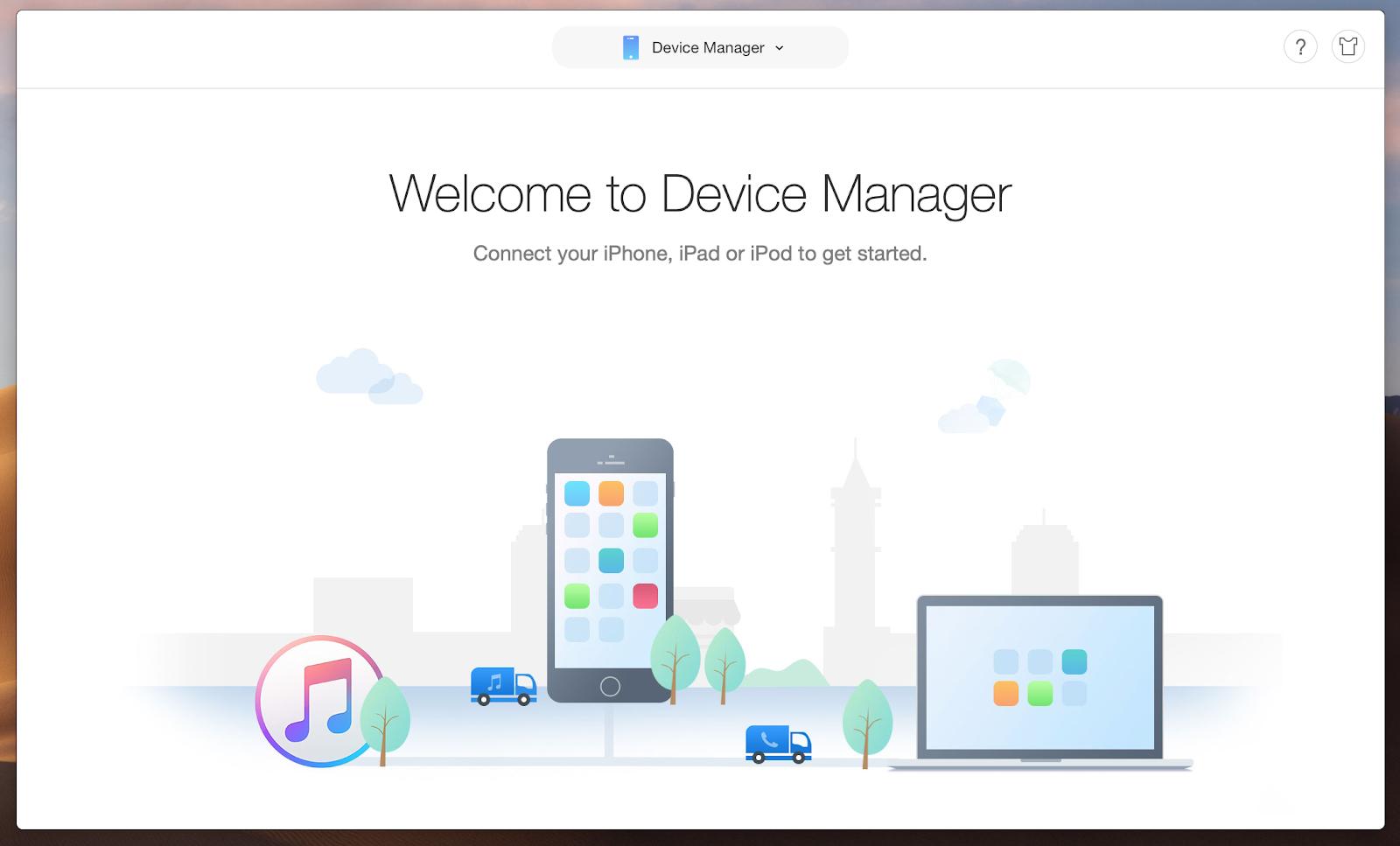 Sync Mac with iOS