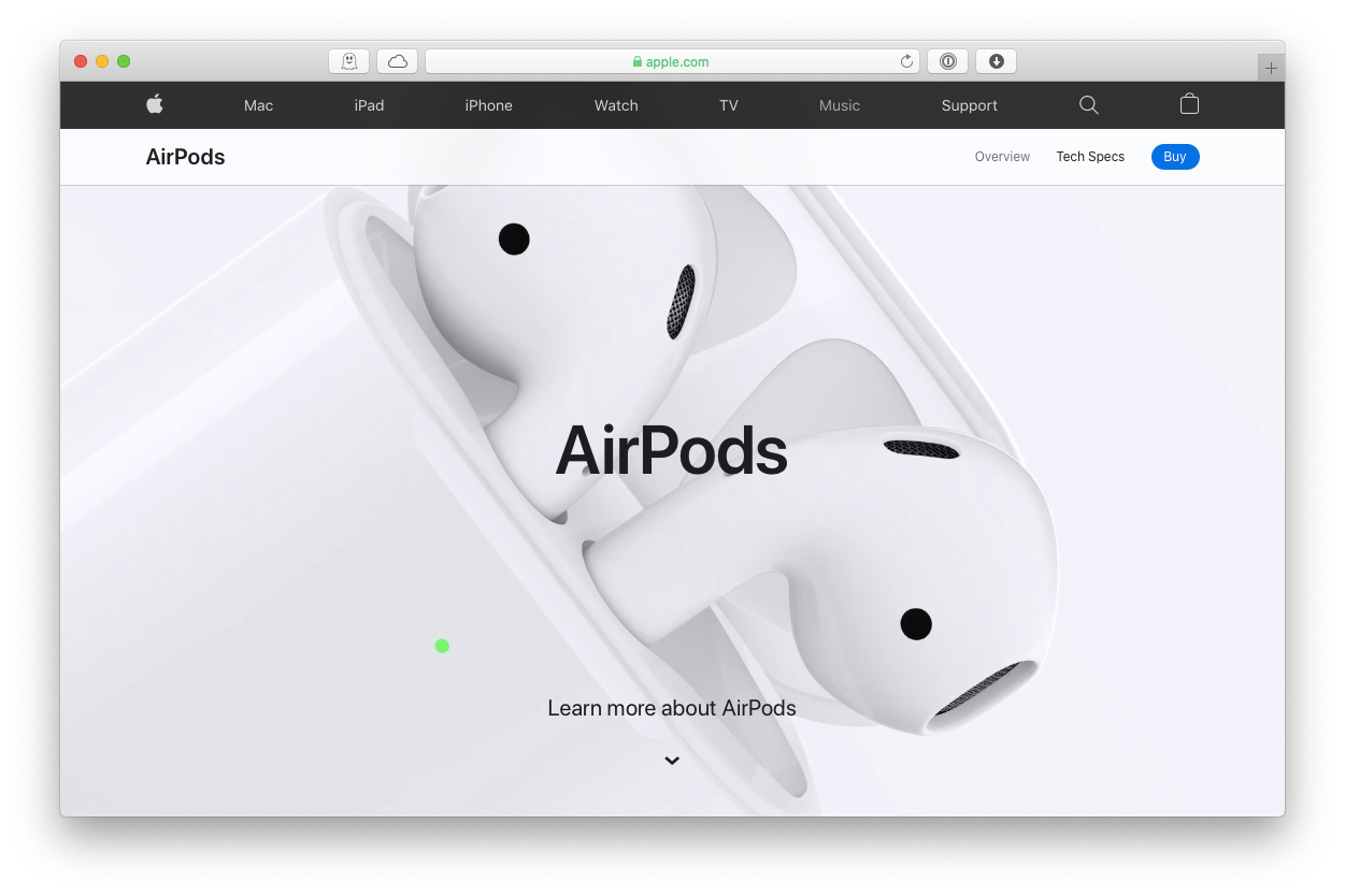 Apple AirPods case charge Mac