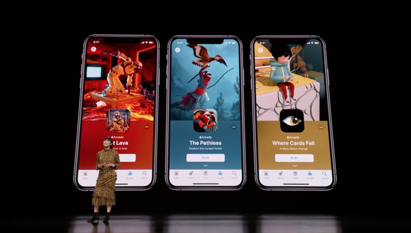 Apple announces Apple Arcade