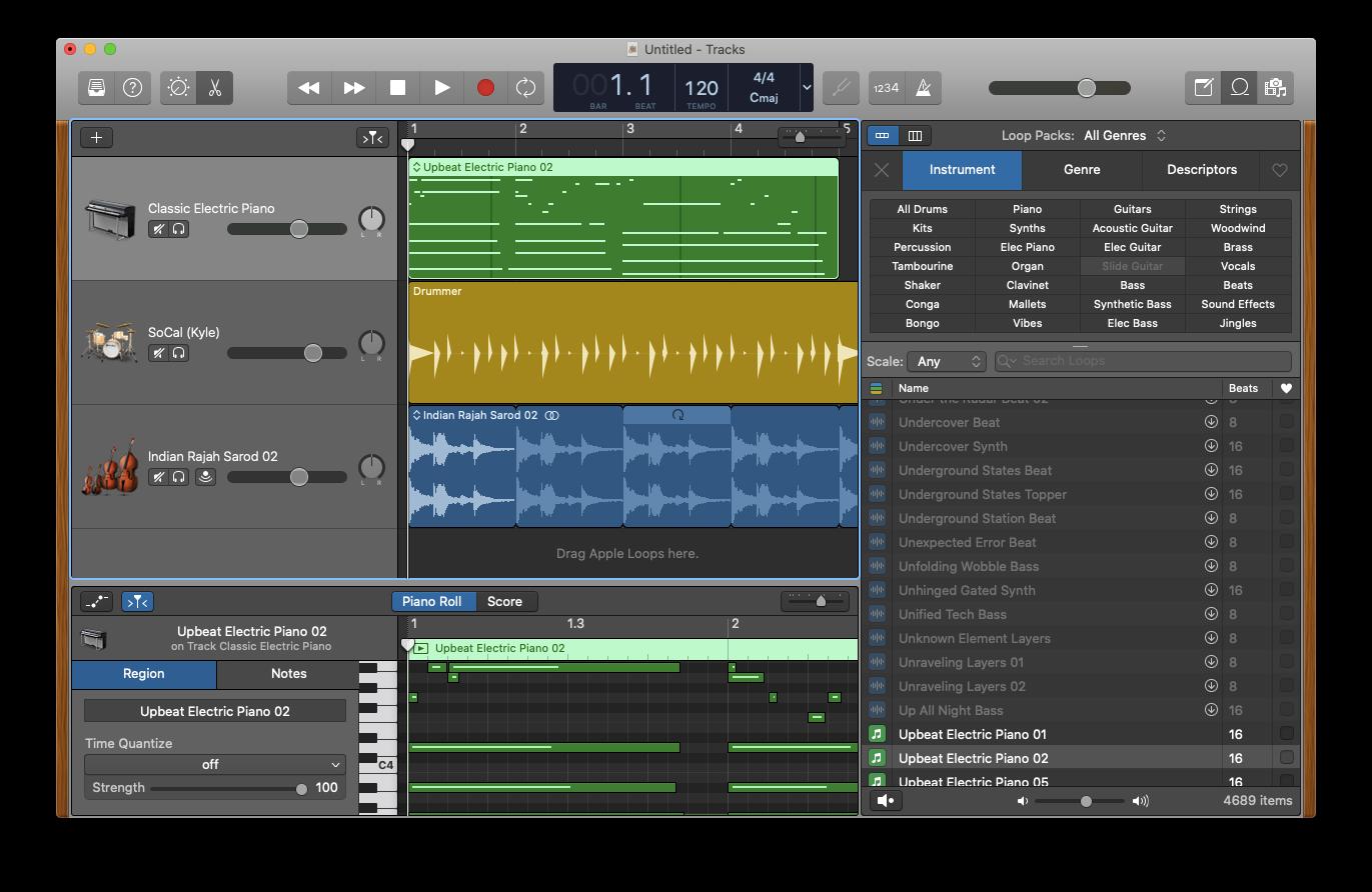 Apple loops Mac GarageBand
