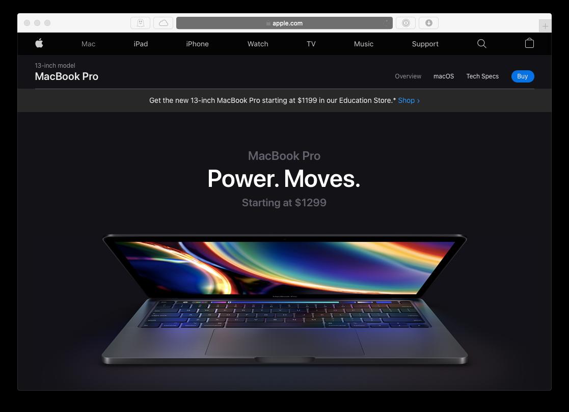 Apple MacBook 13-inch Mac