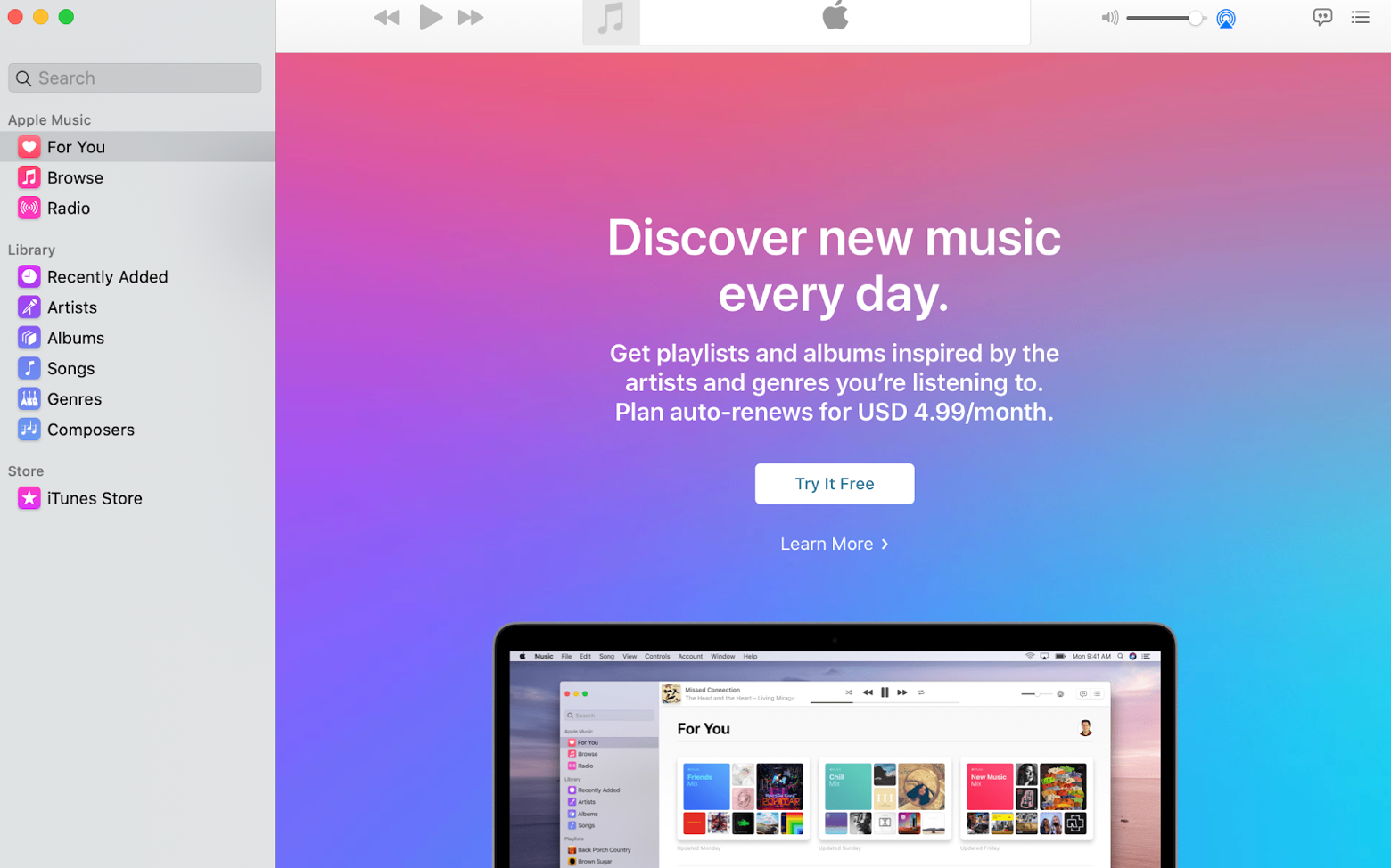 Give an Apple Music Subscription as a gift