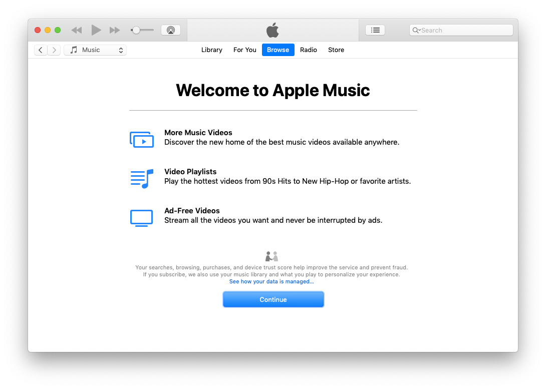 apple music itunes mac