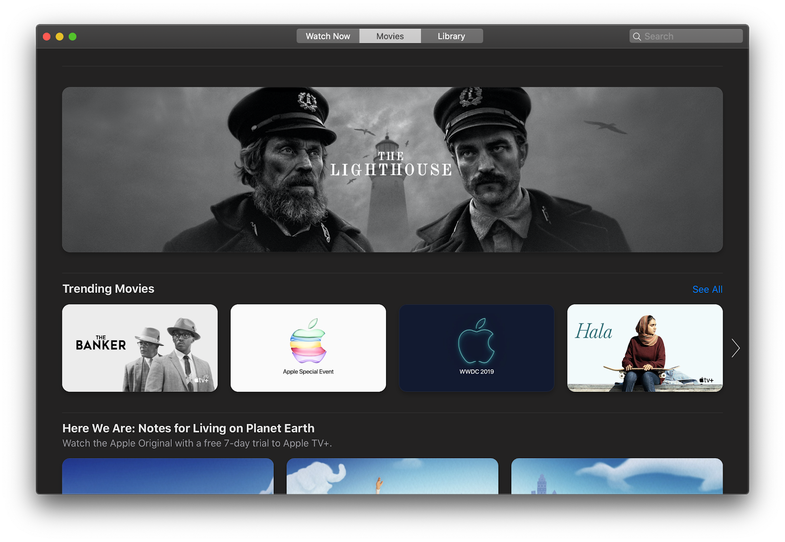 Apple TV+ movies