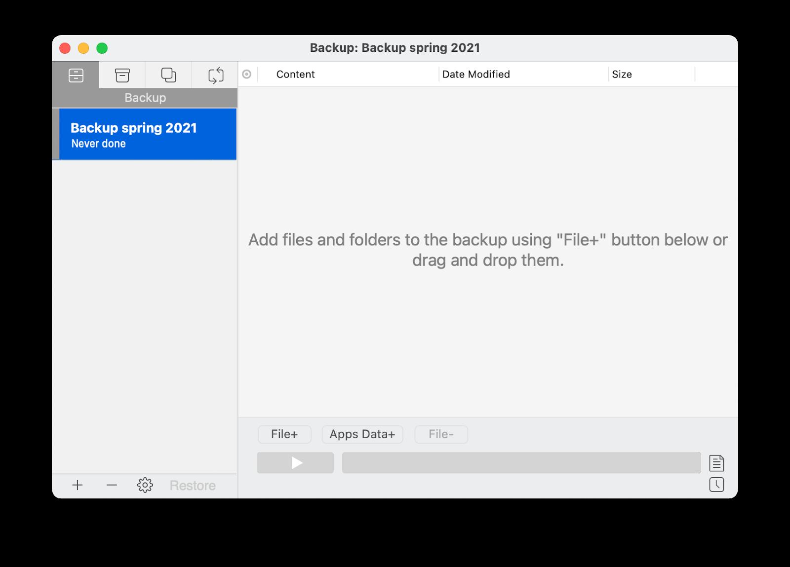 Get Backup Pro
