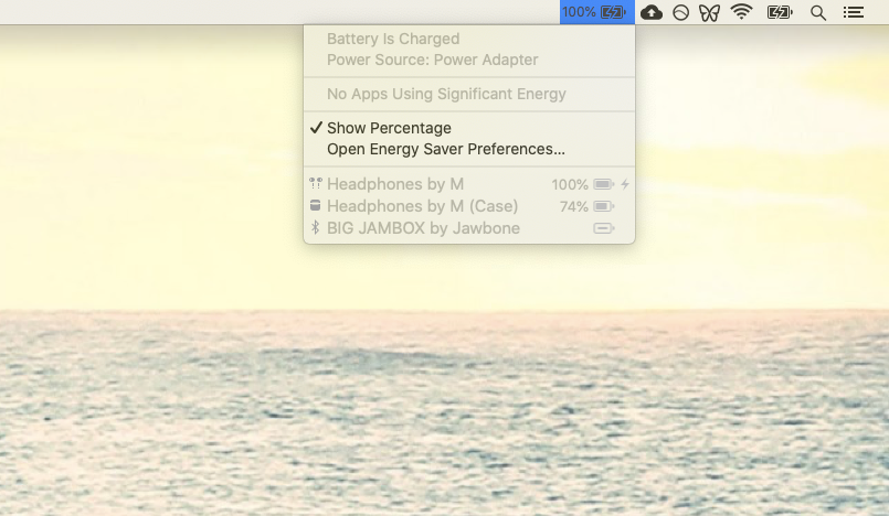 Batteries Mac app monitor