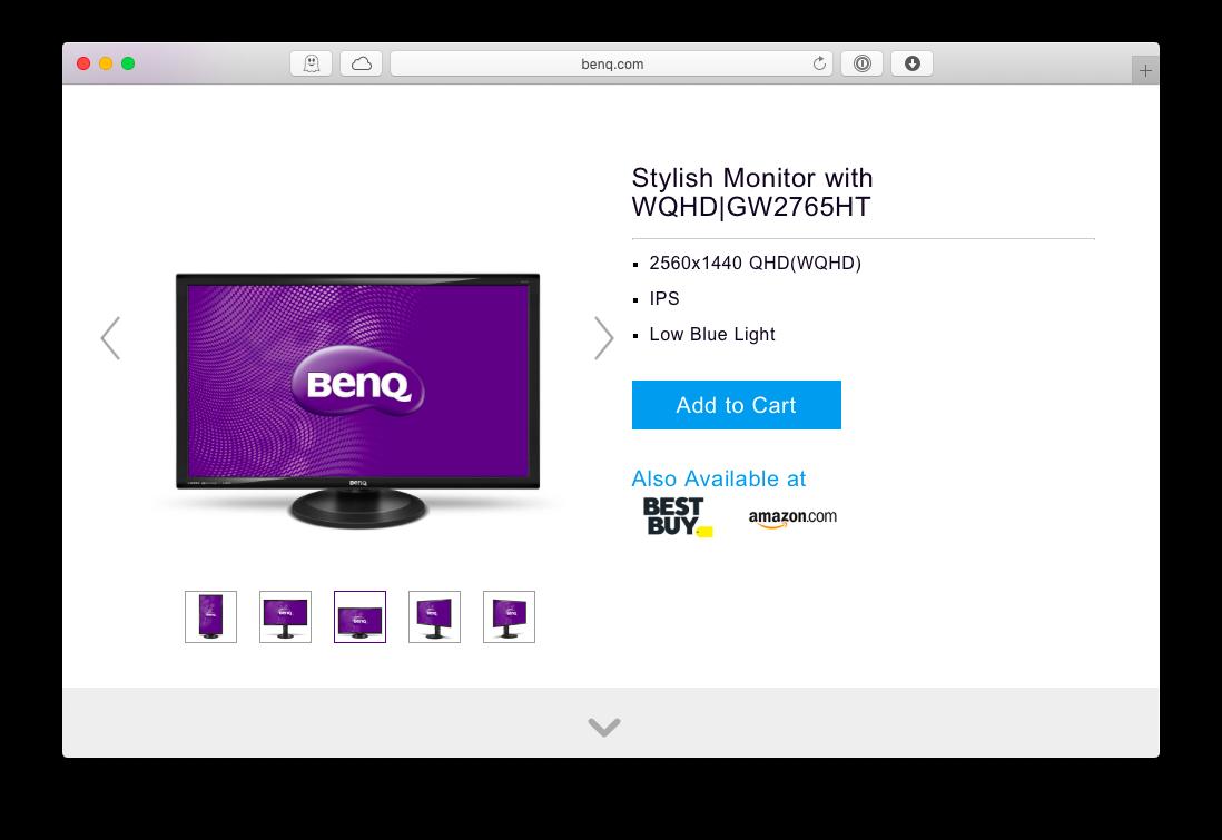 BenQ 27-inch GW Monitor
