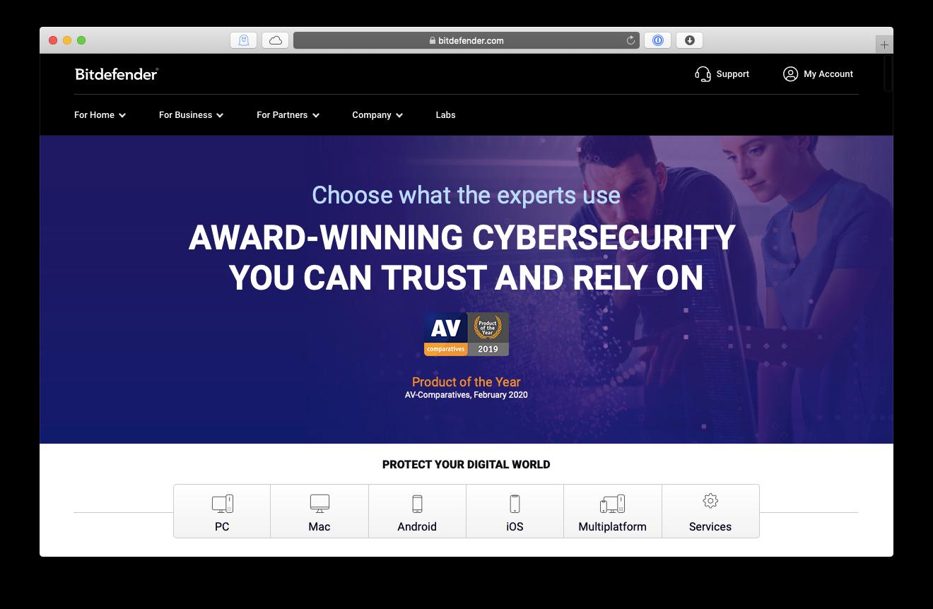 Bitdefender Mac app antivirus