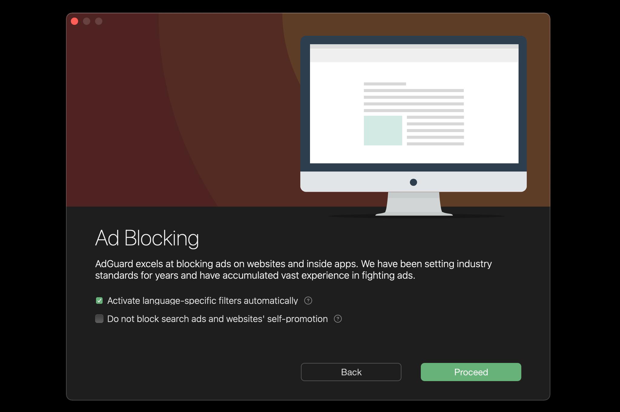 ads mac blocking