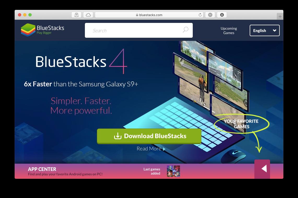 bluestacks android emulator mac