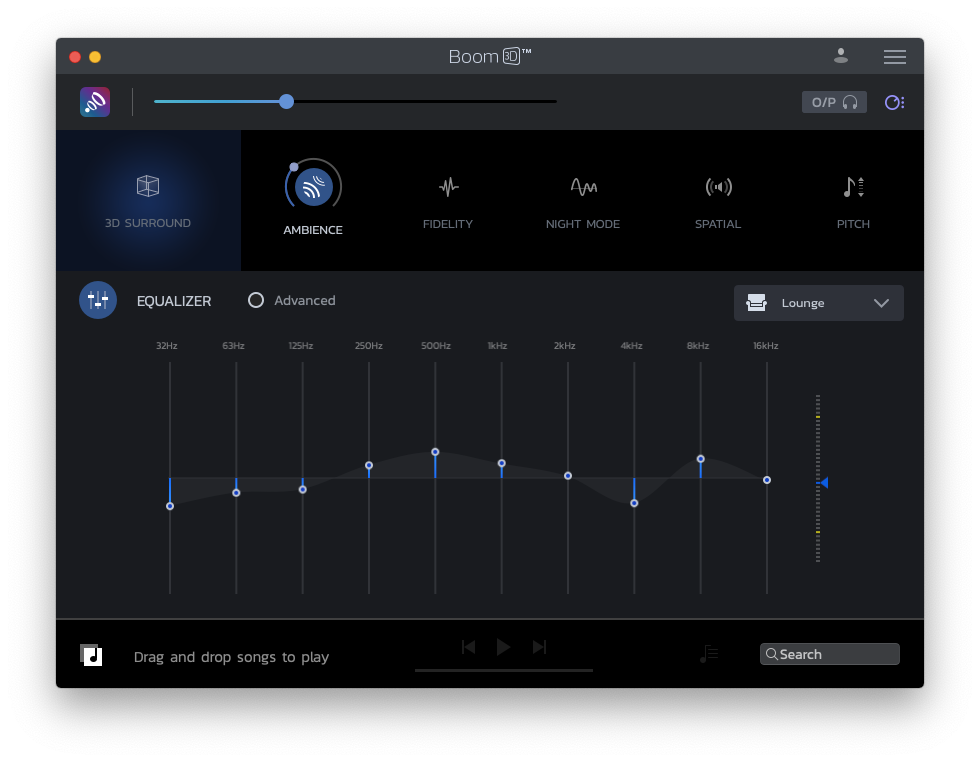 Boom 3D max volume sound equalizer Mac