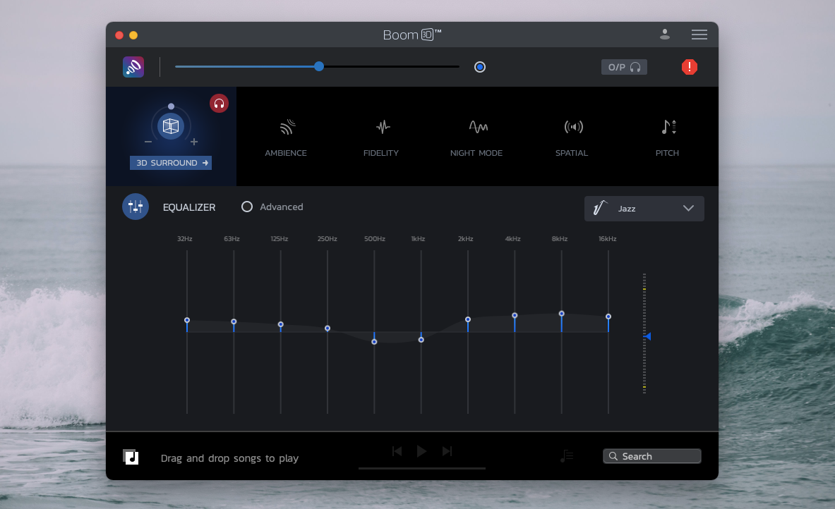 Boom 3D music app Mac