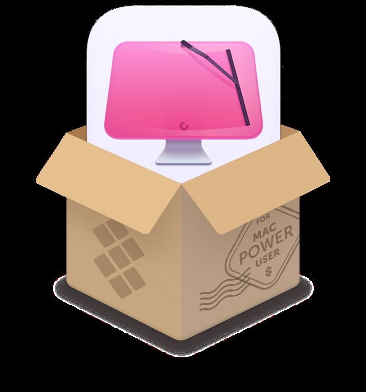 Logotipo do app CleanMyMac