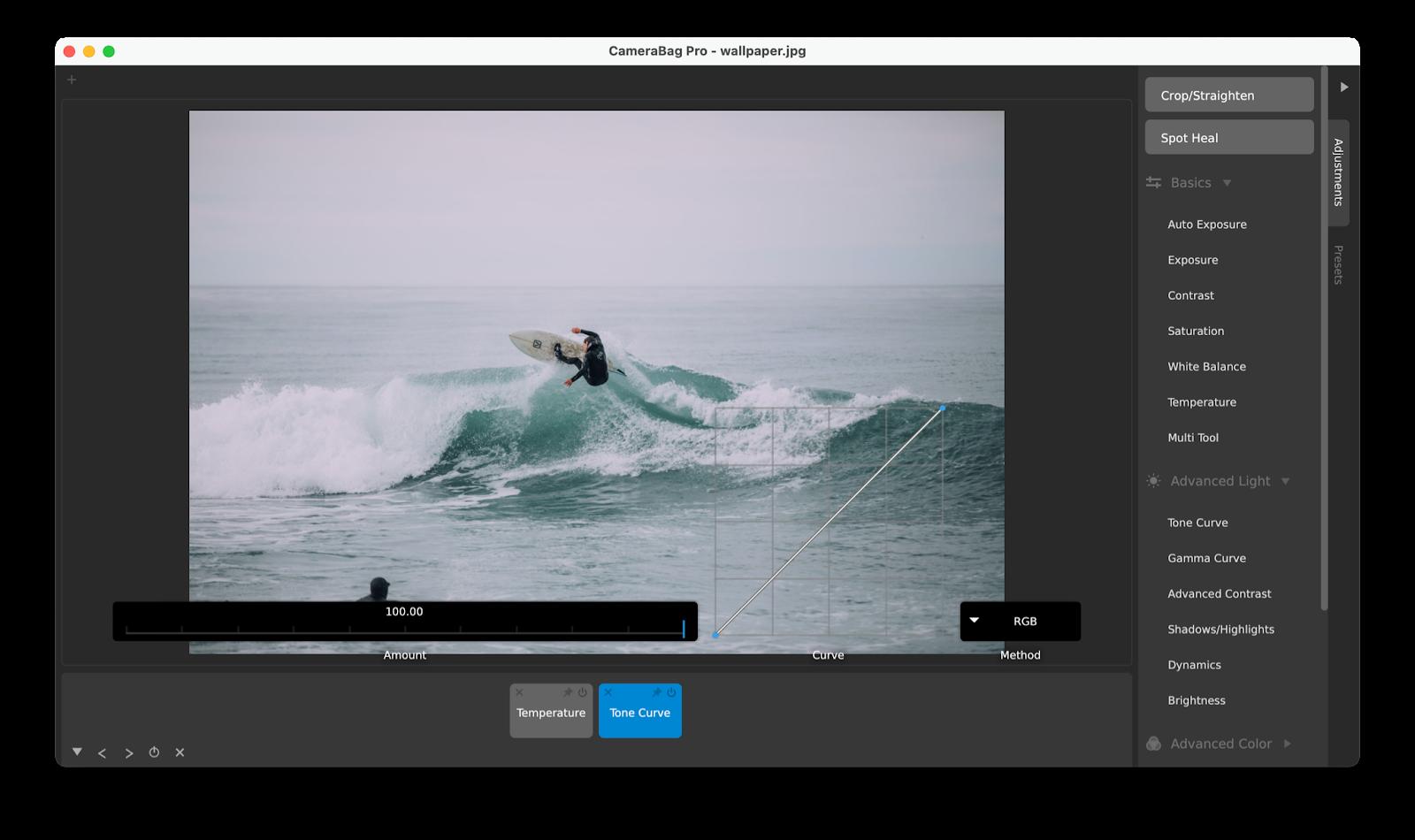 camerabag pro editor photo mac