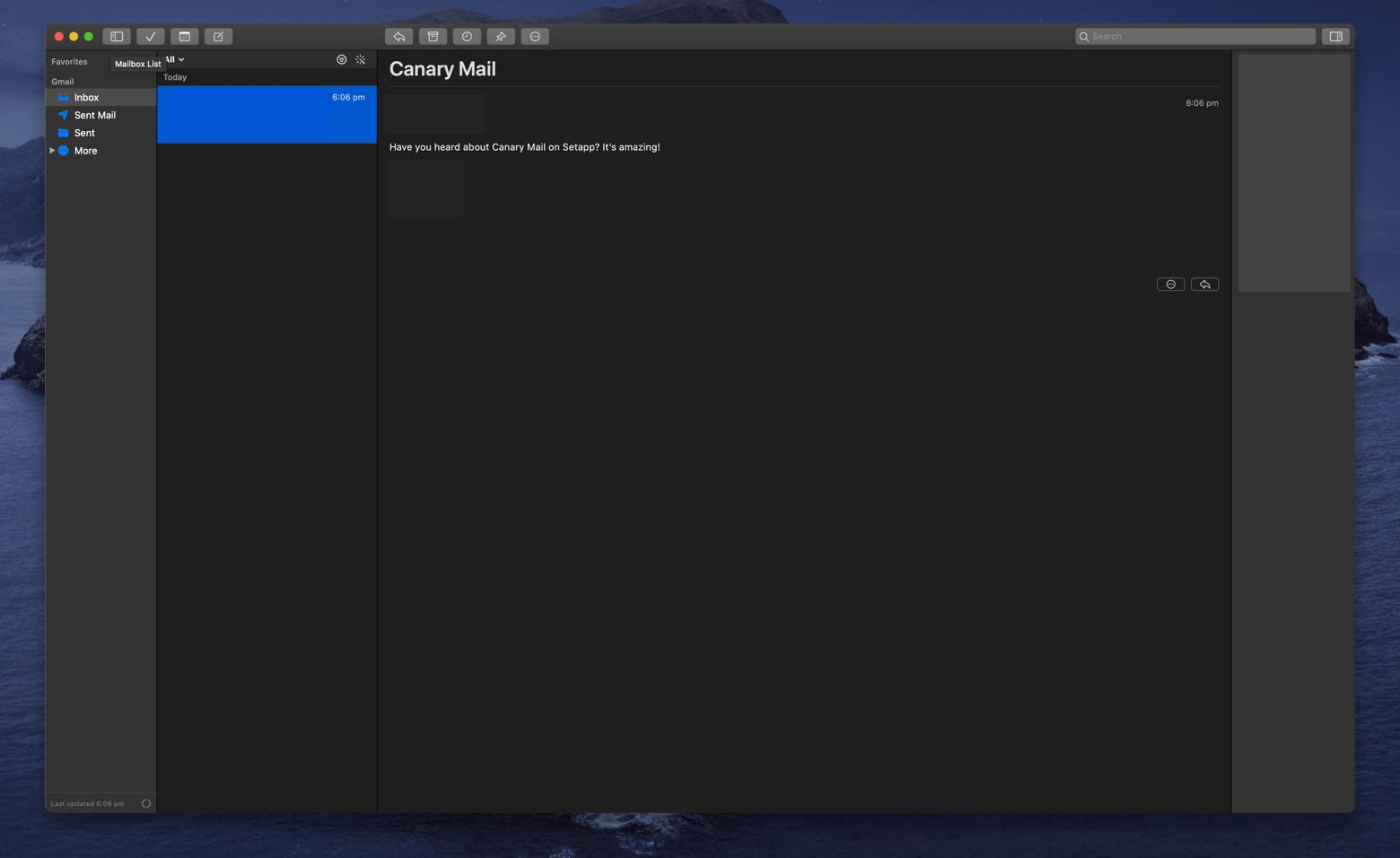 Canary Mail desktop