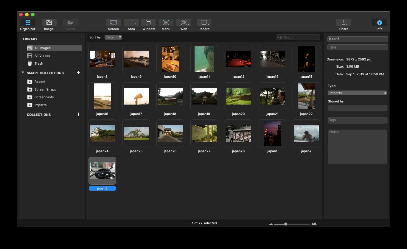 Capto gif create mac app