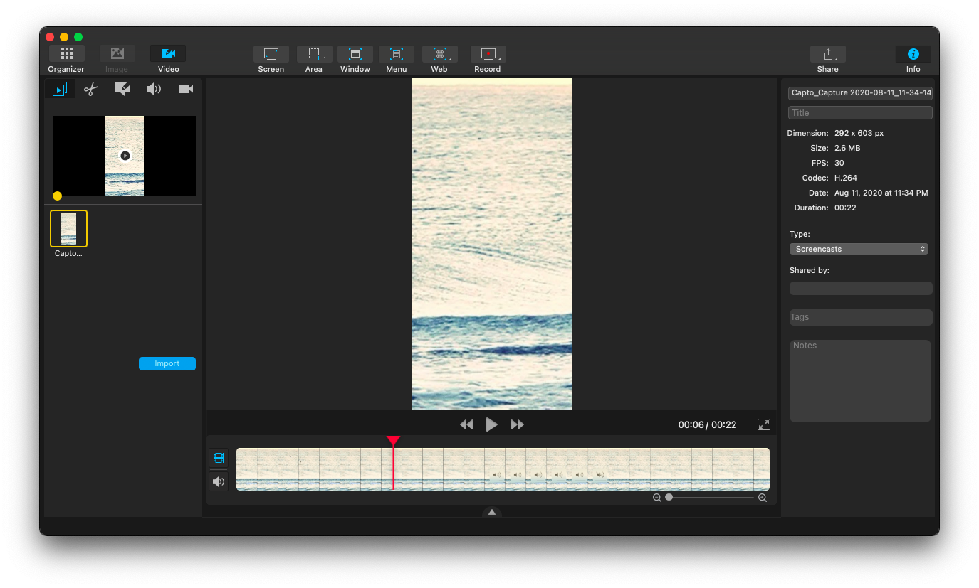 customize audio in your time lapse video