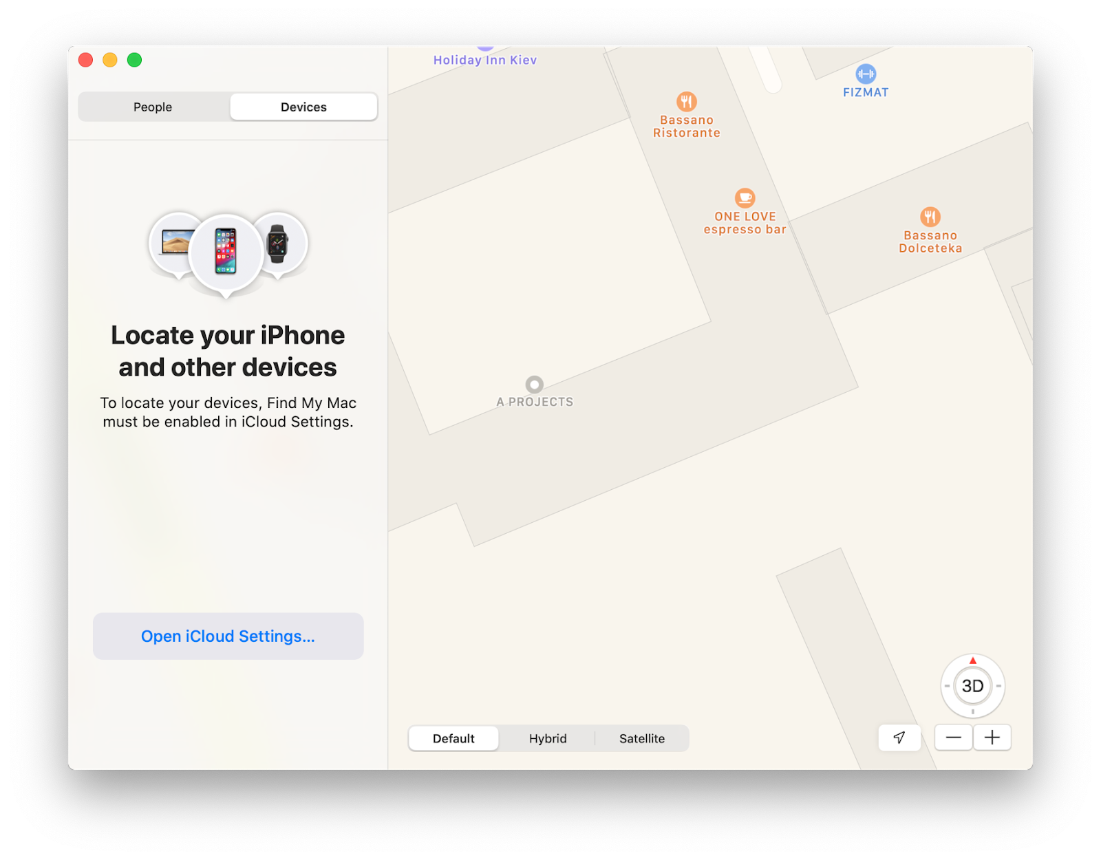 iOS/macOS tracking