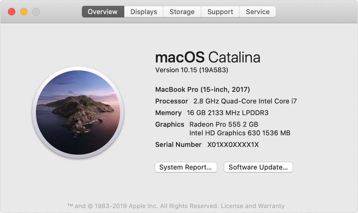 check macOS version