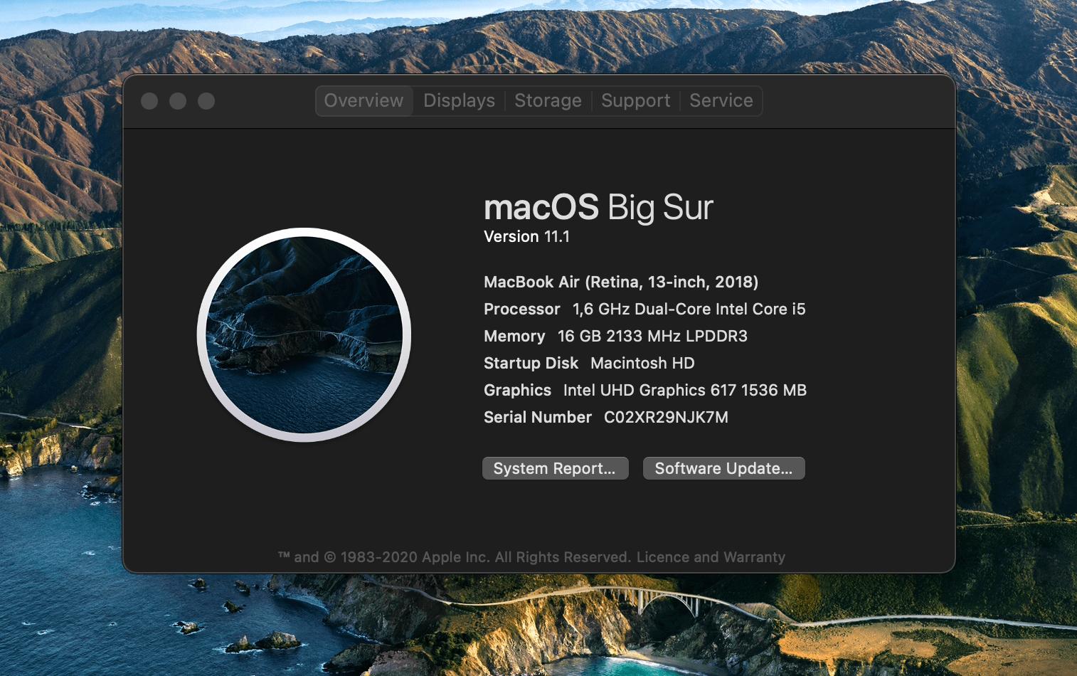 macOS Version überprüfen
