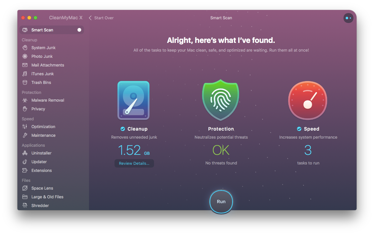 CleanMyMac X Mac cleaner