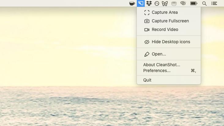 Cleanshot mac screenshot app