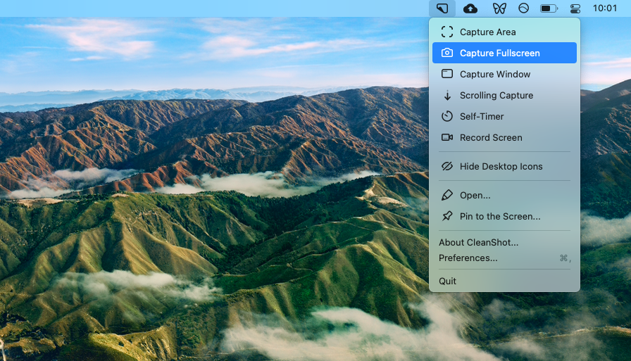 CleanShot screenshot tool