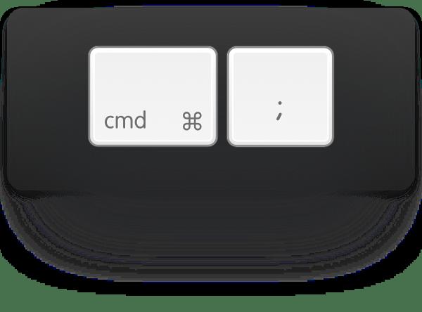 cmd-semicolon