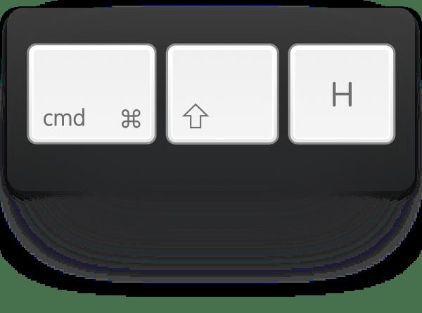 cmd-shift-h