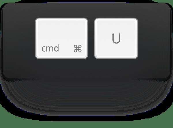 cmd-shift-u