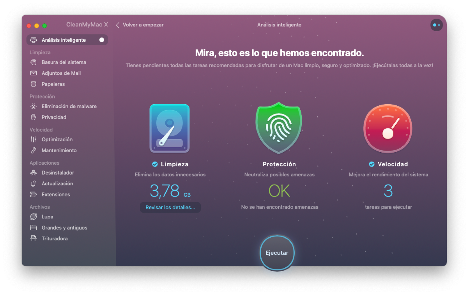 free up space on Mac CleanMyMac X