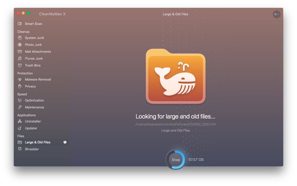 large files cleanmymac