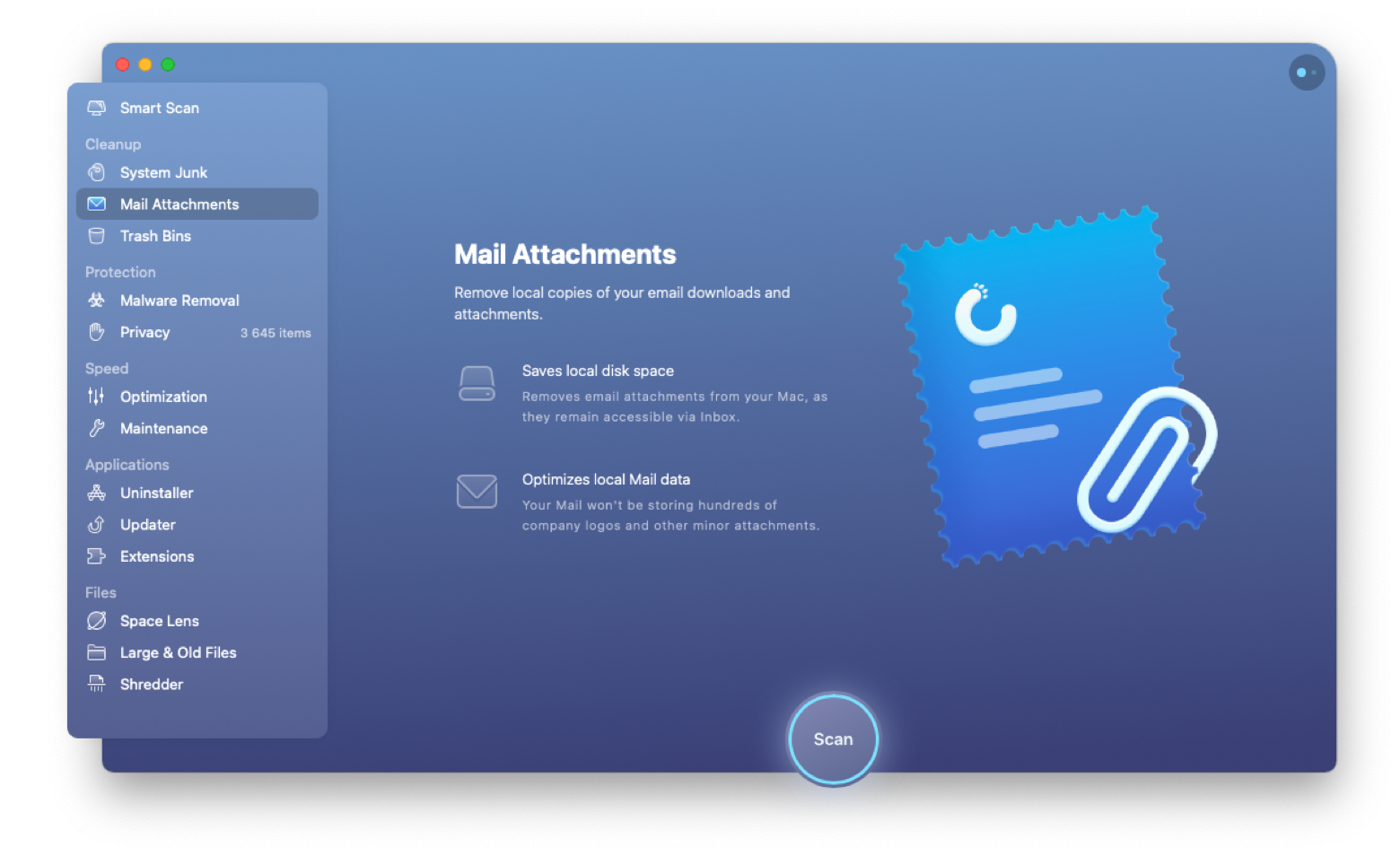 cleanmymac free email space