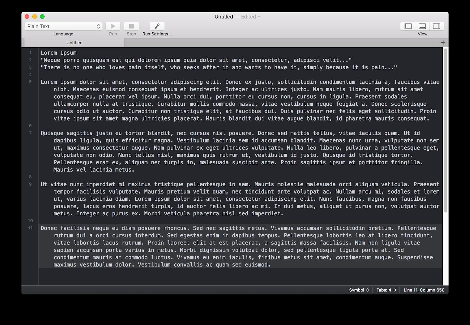 CodeRunner app Mac