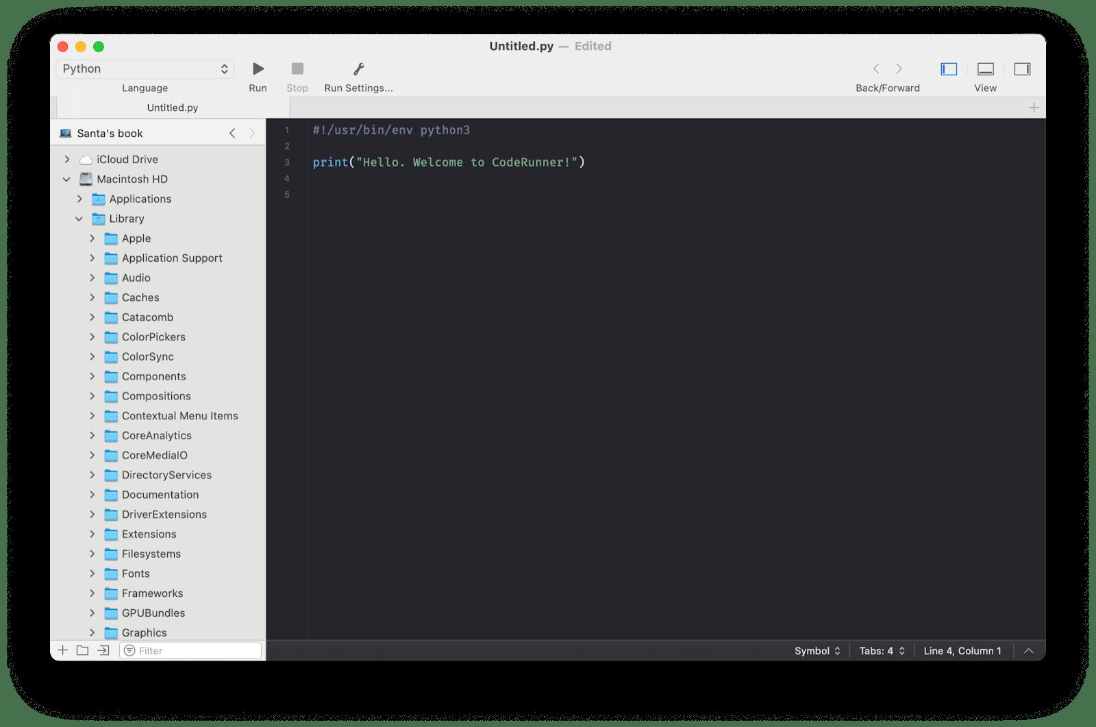 CodeRunner mac