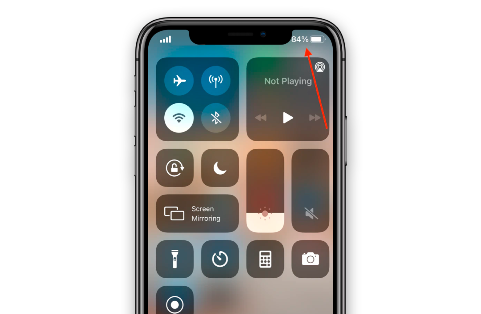control center from the top