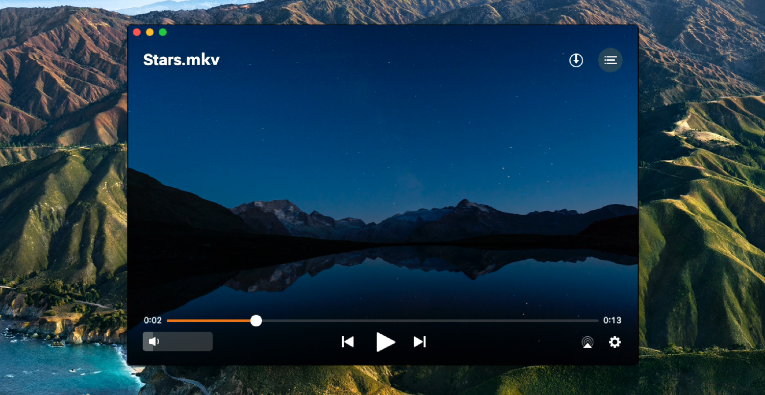Reproduza vídeos MKV no Mac