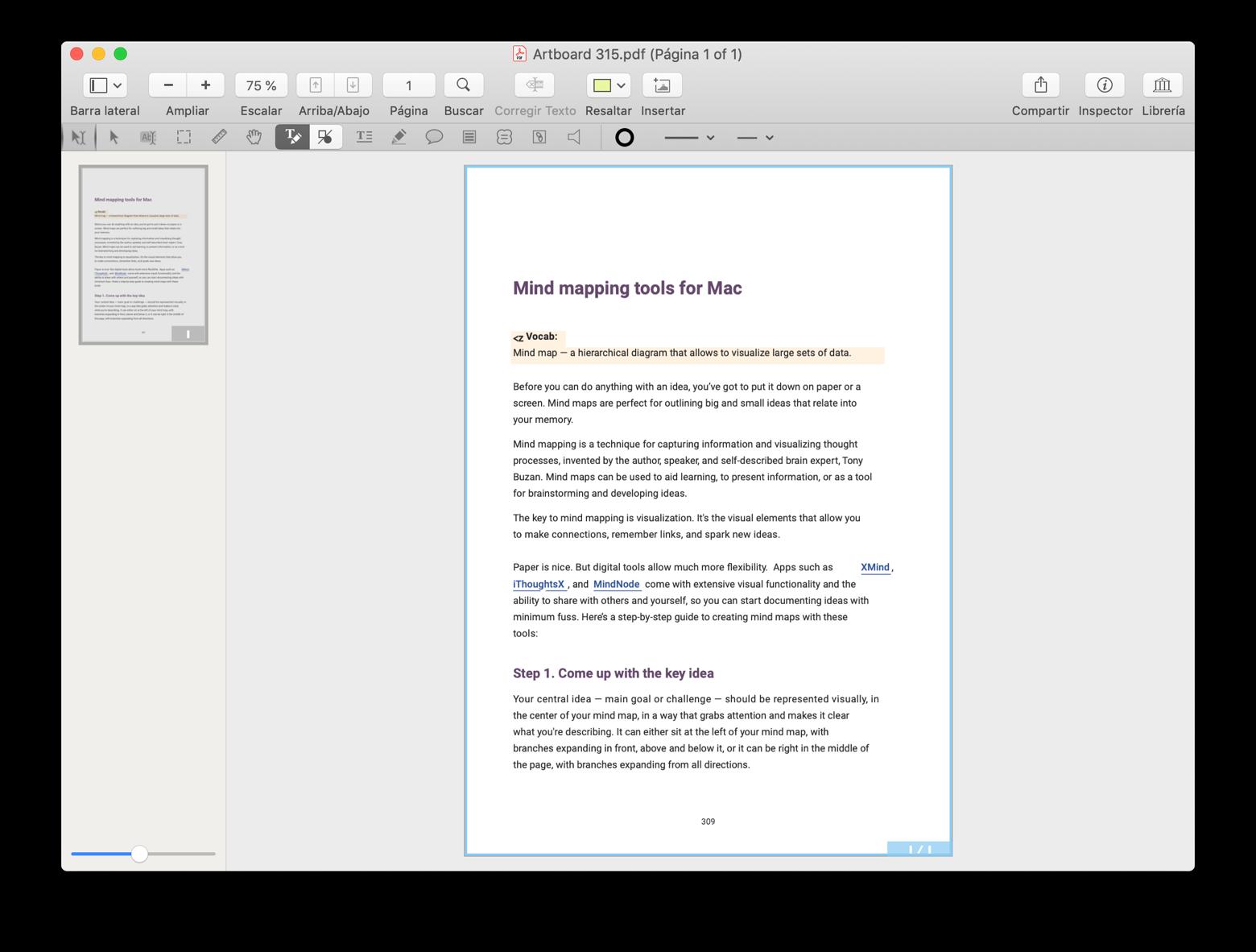 Convertir y editar PDF en PDFpen