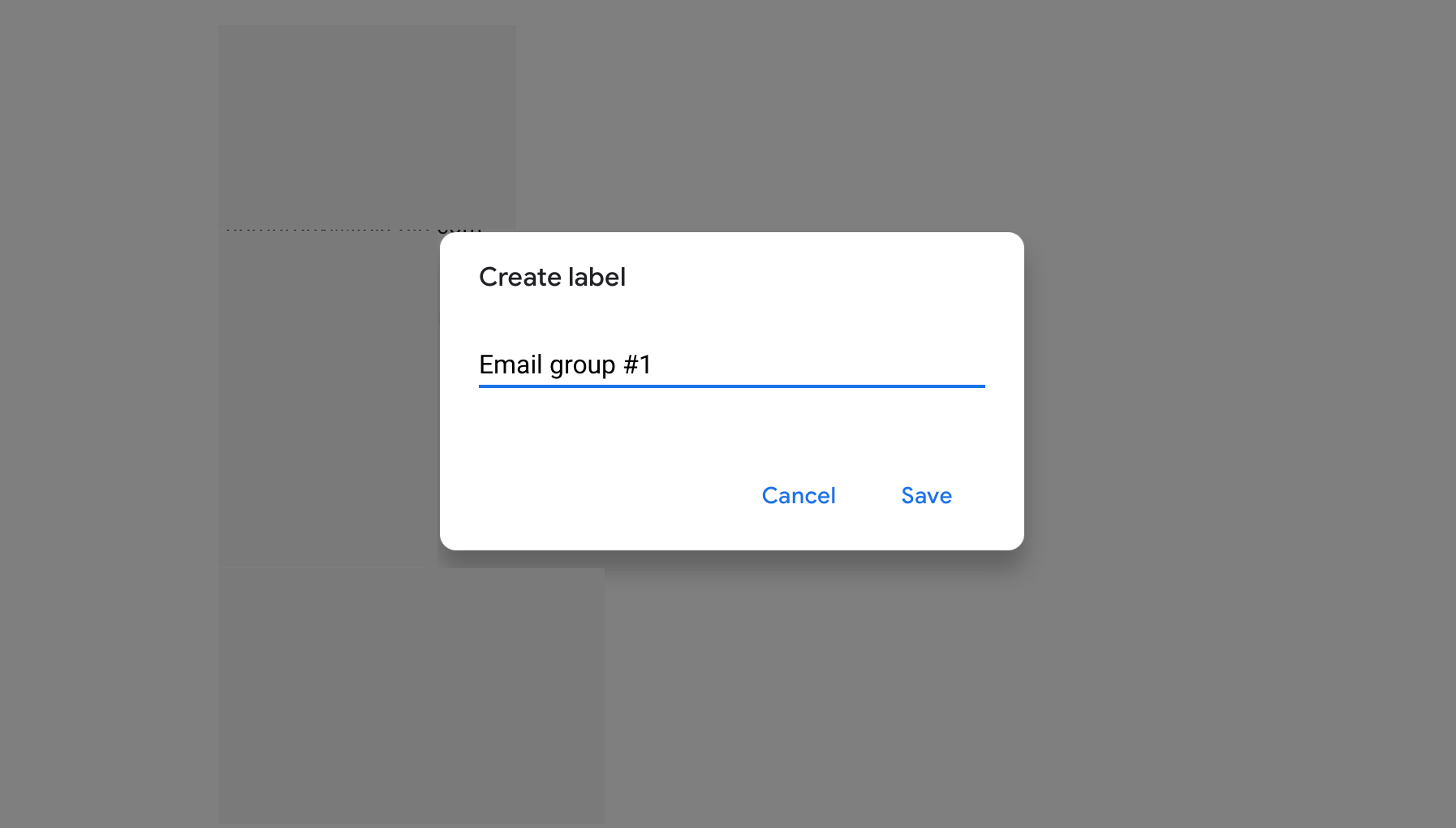 create group email