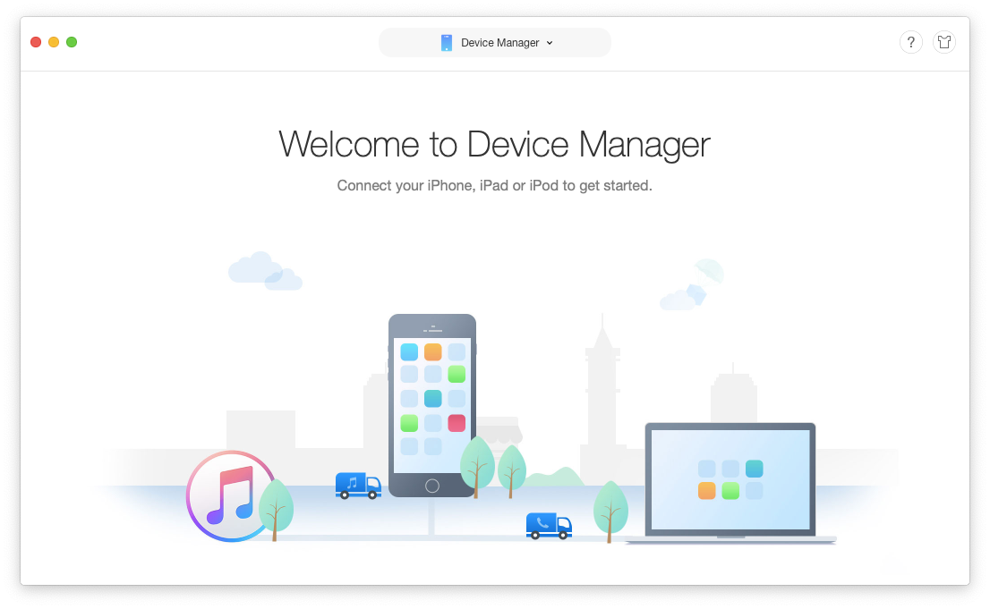 device manager Anytrans iOS macOS